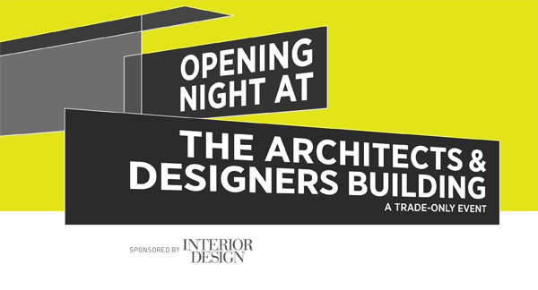 Opening Night at the Architects & Designers Building